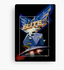 Elite Retro Game Design Canvas Print