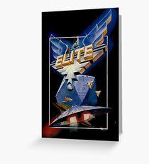 Elite Retro Game Design Greeting Card