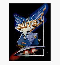 Elite Retro Game Design Photographic Print