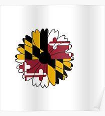 Maryland Black Eyed Susan Poster