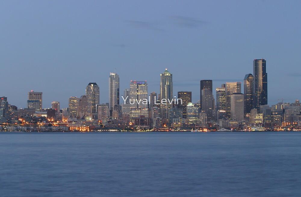 Seattle Skyline by Yuval Levin