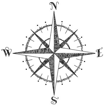 Compass Rose by axialdesigns