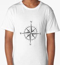 Compass Rose Long T-Shirt