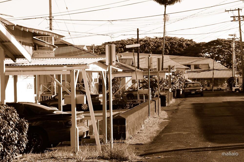 Kukuau Street by maliaio