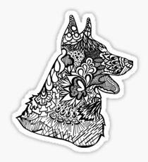 German_Shepard Sticker