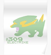 ELECTRIKE! POKEMON Poster