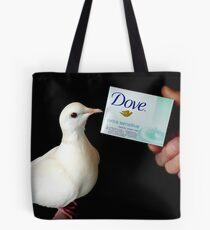 Dove Extra Sensitive... That's Me.. White Dove - NZ Tote Bag