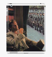 WATCHING WAR FLY BY. iPad Case/Skin