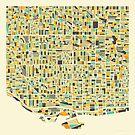 TORONTO MAP by JazzberryBlue