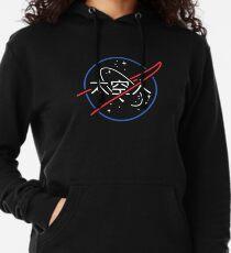 Logo néon japonais esthétique de la NASA Sweat à capuche léger