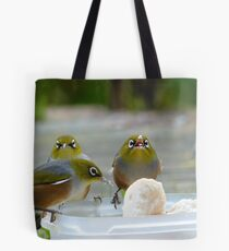 YUM...yum...Yummy... - Silver-Eyes - NZ Tote Bag