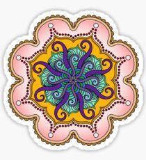 Tentacle Mandala Sticker