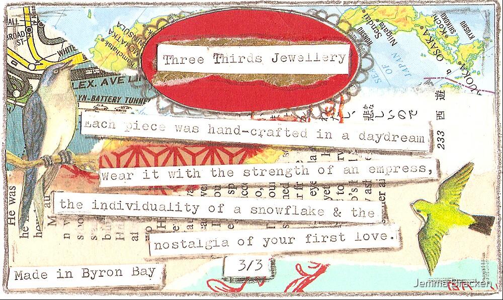 Three thirds Jewellery by Jemma Bracken