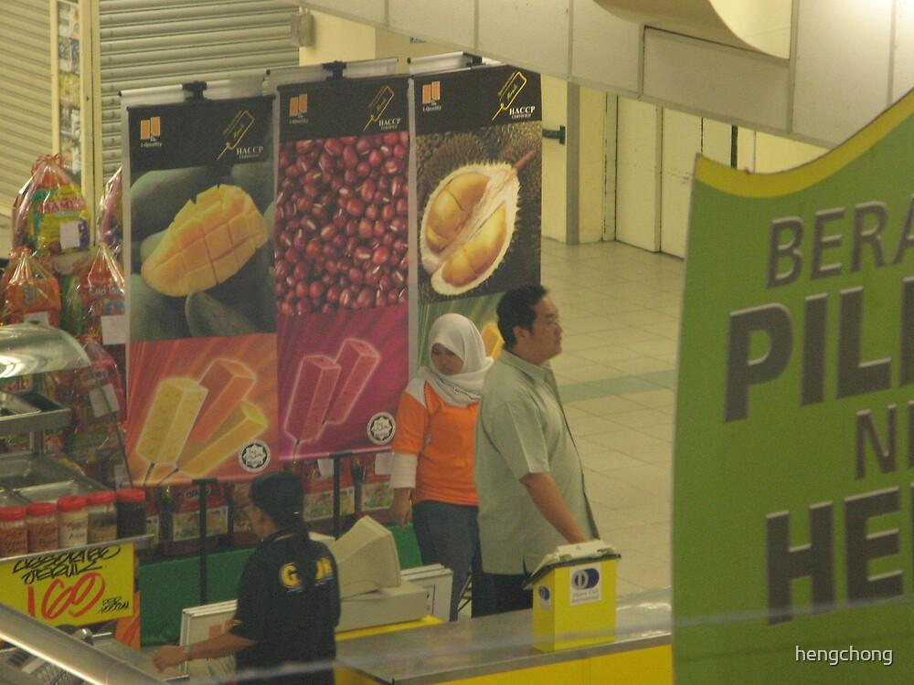 ice cream stall KLANG by hengchong