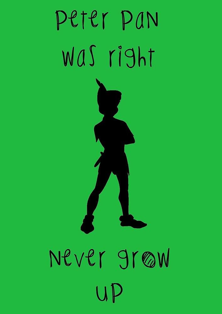 Peter Pan by LaurenRueshane