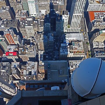 View from the Empire State Building, New York. by Bricolage