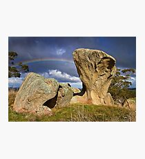 0308 Rock formation Photographic Print