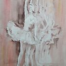 Swan Lake - Ballet Painting - Dance Art Gallery by Ballet Dance-Artist
