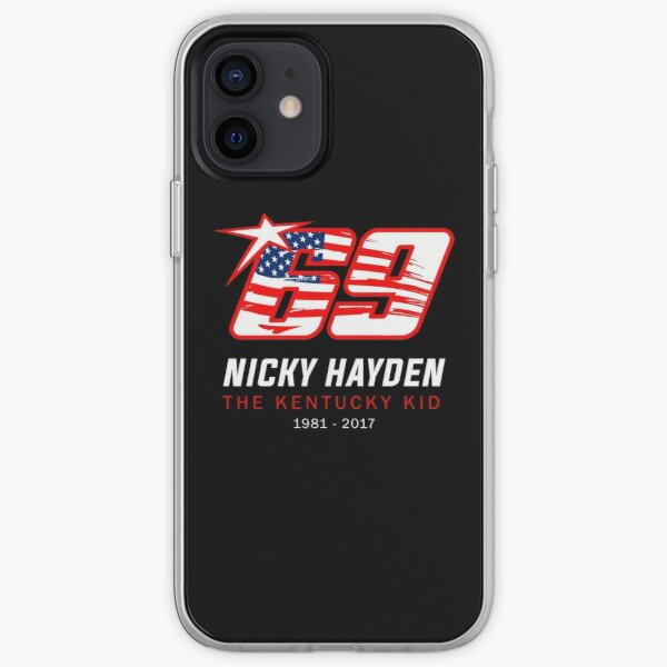 Condolence For Nicky Hayden iPhone Soft Case
