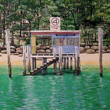 Four Knots - Bennett's Wharf Pittwater by tomchin6