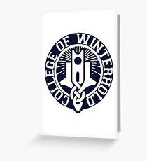 College of Winterhold Greeting Card