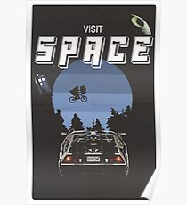 Visit Space Poster
