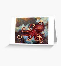 Octopus Dream Greeting Card