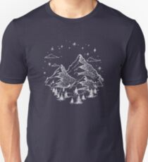 """""""The Great Outdoors"""" in White T-Shirt"""