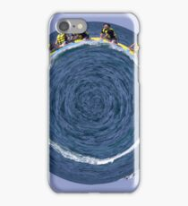 banana boating in a small blue world iPhone Case/Skin