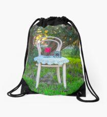 Lovely Little Bentwood Chair... Drawstring Bag