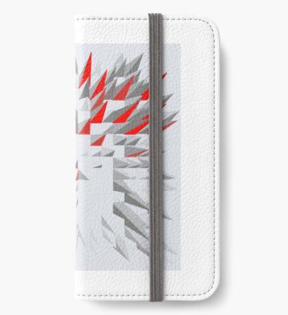 Red Spine iPhone Flip-Case