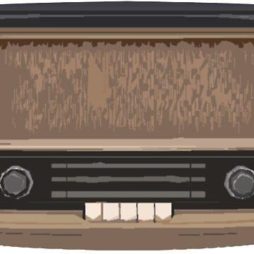 Vintage Radio von DIDRB
