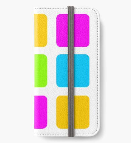 Color Grid iPhone Flip-Case