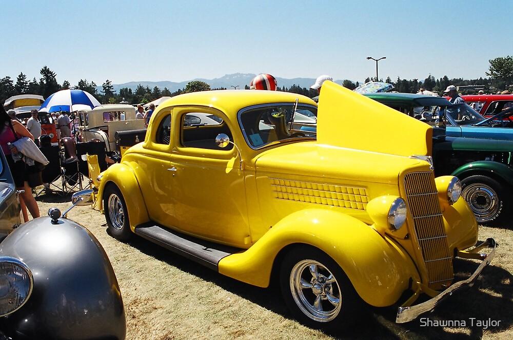 Car Show - Yellow Hot Rod by Shawnna Taylor
