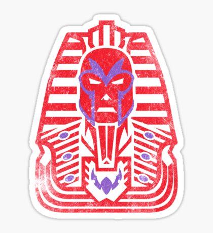 Pharaoh of Magnets Sticker