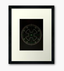 Sprocket UFO Framed Print
