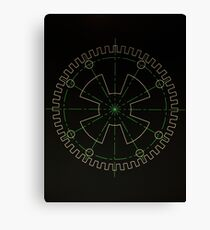 Sprocket UFO Canvas Print