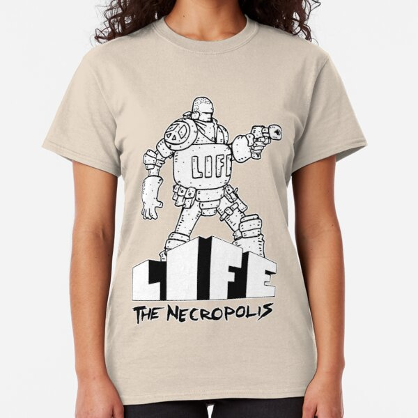 Life The Necropolis: Bulky  Classic T-Shirt