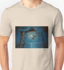 Tiny Castle Big World painting by Johnny Lonzo Blaylock Unisex T-Shirt