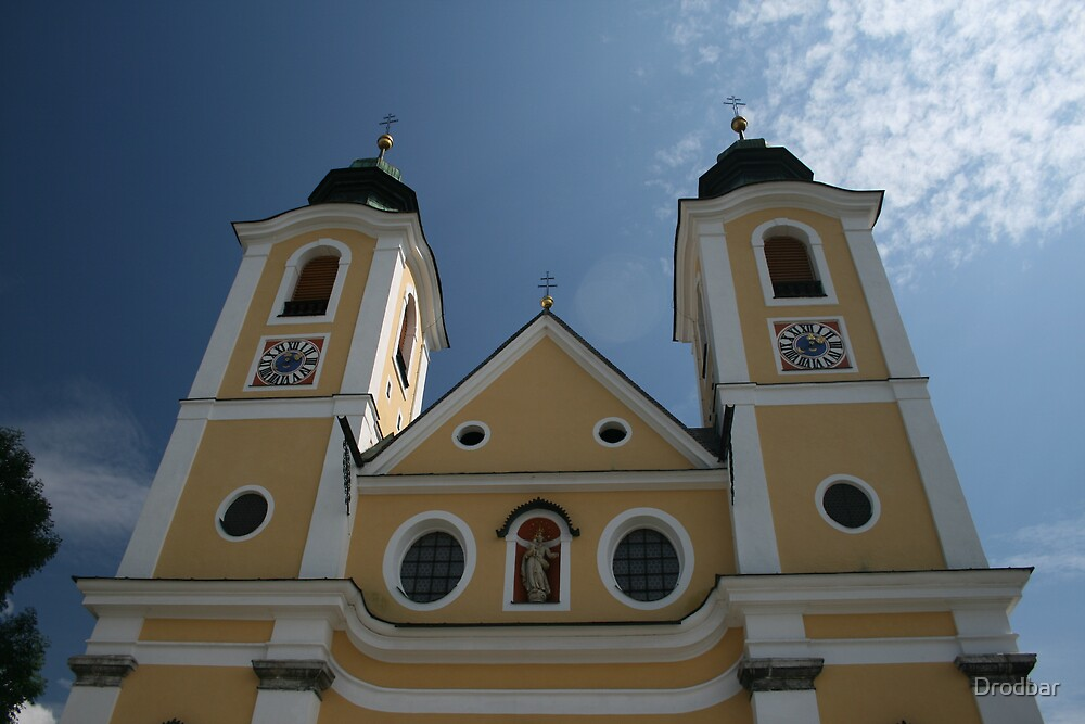 Austrian Church by Drodbar
