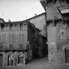 Street corner Siena by Maggie Hegarty