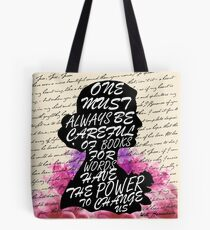 Words have the power to change us Tote Bag