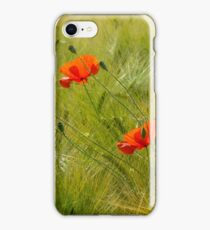 Red Poppy - Mohnblume iPhone Case/Skin