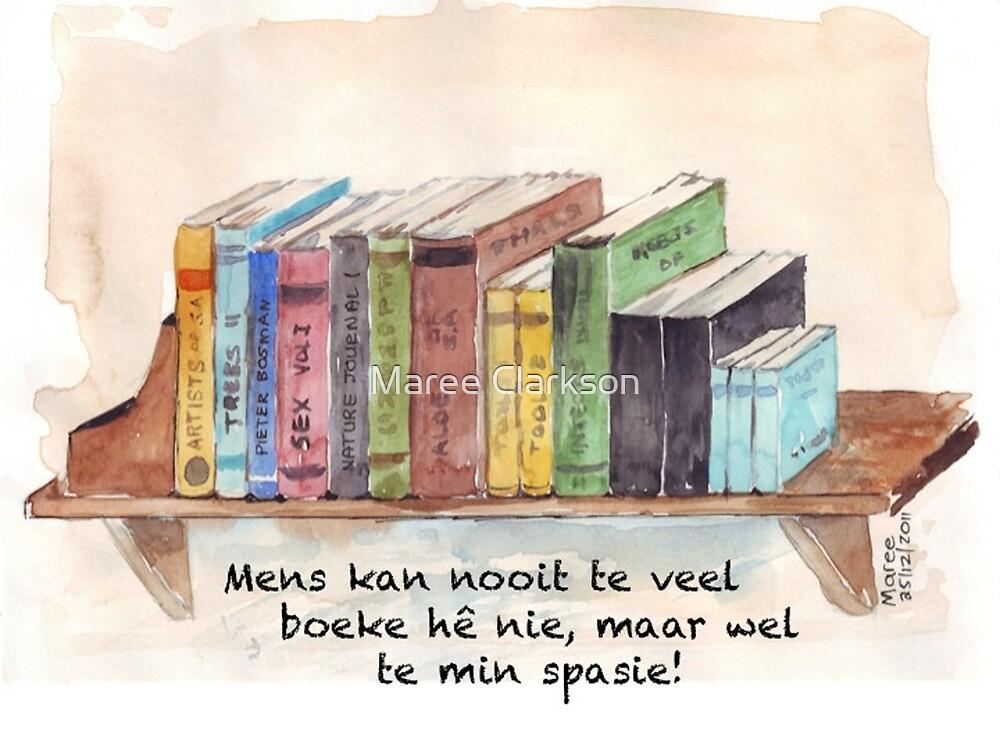 Die wonder van boeke | The wonder of books by Maree Clarkson