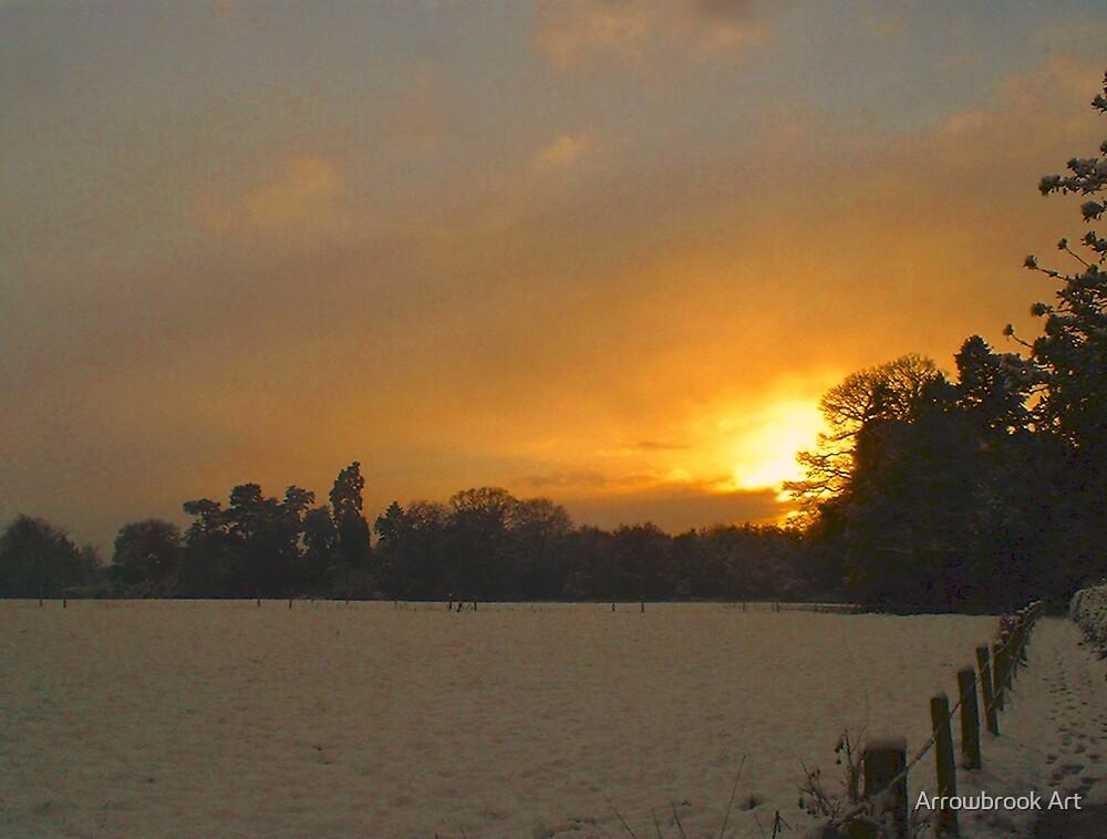 Winter Sunset  by John Brotheridge