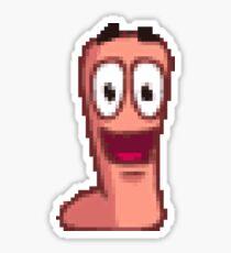 Worms Sticker