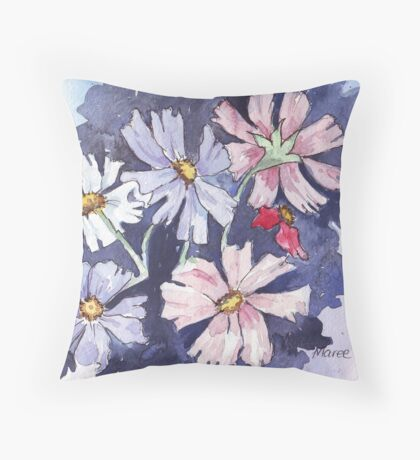 Cosmos beauty Throw Pillow