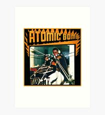Atombombe Kunstdruck