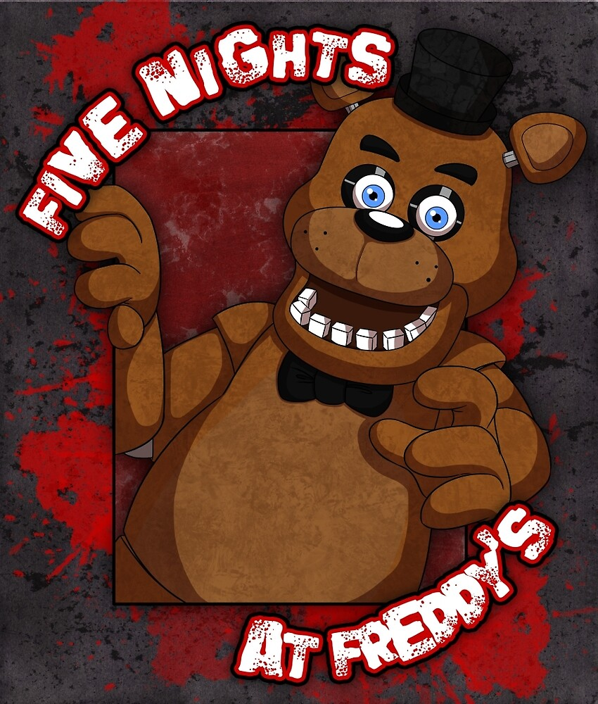 Freddy Fazbear by MacTonight