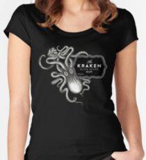 Kraken Women's Fitted Scoop T-Shirt